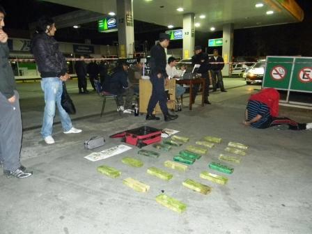 Cayó pareja de narcotraficantes en Don Torcuato