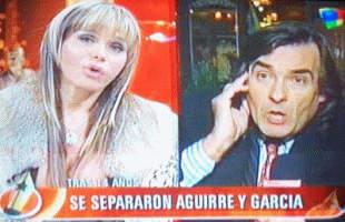 La ex pareja de Adriana Aguirre fue asaltada en un semaforo de Belgrano