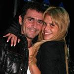 Fabián Rodríguez y Nazarena Velez