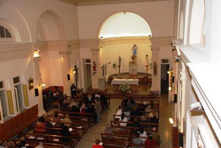 Finalizaron las obras de restauración de la capilla María Auxiliadora