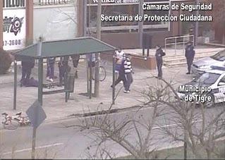 Dos delincuentes atrapados en Tigre por las cámaras y un puesto de Control