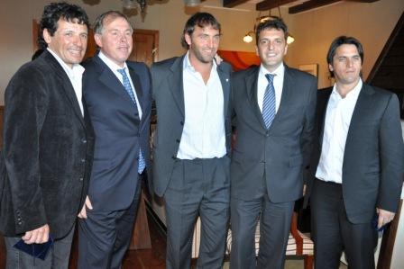 El intendente de Tigre desde Bariloche en el marco de la jornada Planeando inversiones para mejorar el futuro
