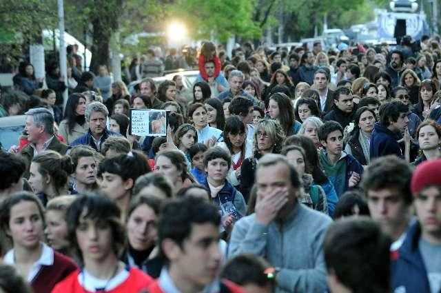 Multitudinaria marcha para pedir justicia por el crimen de Matias