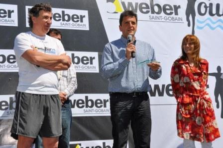 En una jornada a pleno sol se desarrolló en Tigre la Maratón Weber y el Campeonato Argentino de Remo 2010.