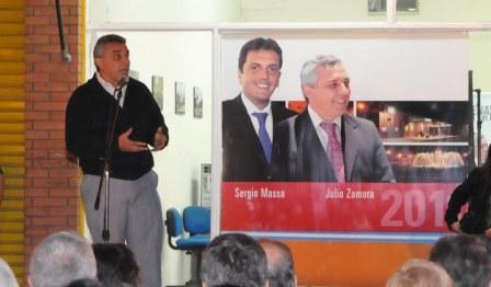"""Julio Zamora: """"En Benavidez estamos viviendo una transformación histórica"""""""