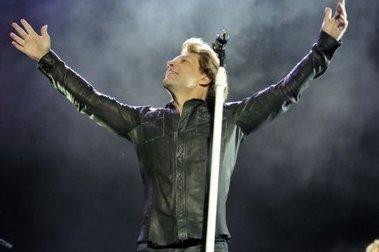 Bon Jovi brilló con un show de tres horas en River