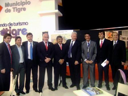 Tigre participó de la  FEBATUR 2010