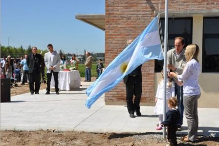 La institución se encuentra en el barrio Santa Bárbara y permitirá ampliar la oferta educativa en el partido