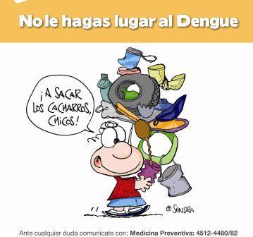 Campaña contra el Dengue en las escuelas de Tigre