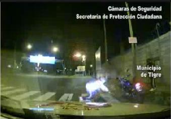 Motochorros detenidos tras espectacular persecución en Tigre