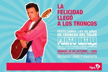Una fiesta para toda la familia con títeres, artistas locales, acrobacias, peloteros y el show de Palito Ortega.