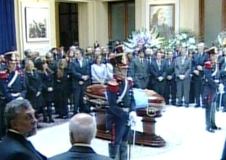 Último adiós al ex presidente Néstor Kirchner