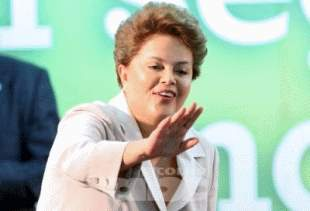 Dilma Rousseff es la primera mujer presidente de Brasil
