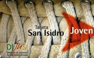 Tarjeta San Isidro Joven