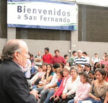 El Intendente Osvaldo Amieiro, entregó lentes a 354 niños y niñas de la Ciudad