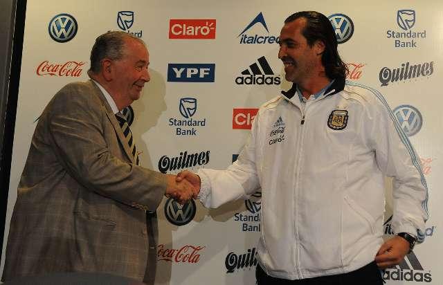 Con la bendición de Grondona, Batista se convirtió en el técnico de la Selección