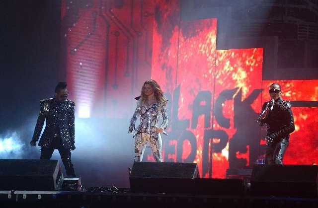 Black Eyed Peas se presentó en GEBA ante 20 mil fanáticos