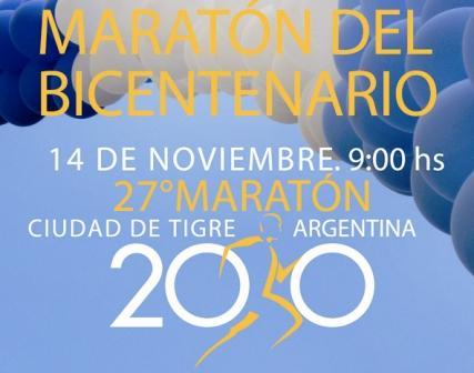 Se corre la Maratón del Bicentenario en Tigre