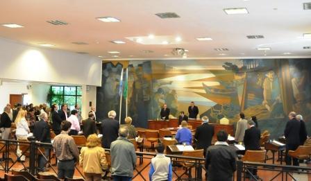 Homenaje al ex Presidente de la Nación Dr. Néstor Kirchner, en el HCD de Tigre