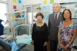 Ivoskus y la Embajadora de Estados Unidos entregaron aparatología odontológica en José León Suárez