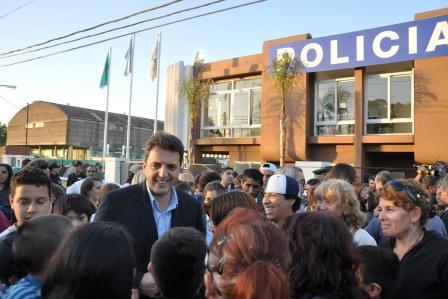 Tigre inauguró el nuevo destacamento policial del barrio Las Tunas