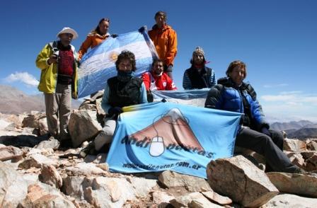 Andinistas de Tigre lograron cumbres en Catamarca
