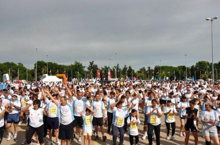 Se corrió la 27º edición de la Maratón Ciudad de Tigre