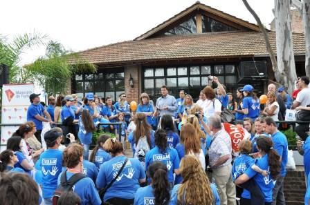 Se festejó el Día Mundial contra la Diabetes en Tigre