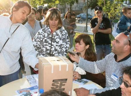Más de 3.800 vecinos de San Fernando votaron el presupuesto participativo