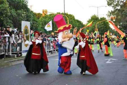 Más de 60.000 personas participaron del  Desfile Mágico en San Isidro