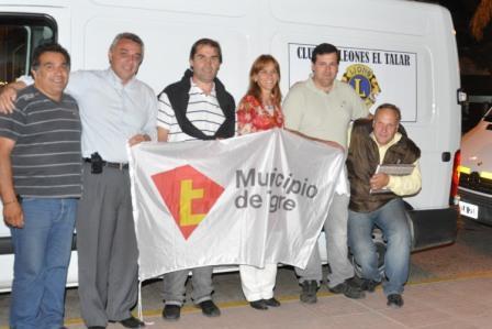 Con el apoyo de los Leones de todo Tigre y el Municipio partieron ayudas solidaridarias para Formosa y Jujuy