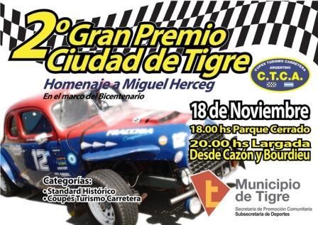 Segundo Gran Premio Ciudad de Tigre