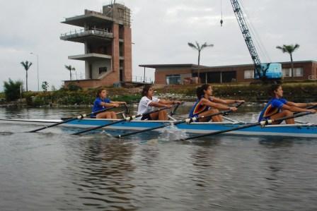 Regata oficial en Villa Constitución y travesía en aguas del Delta de Tigre