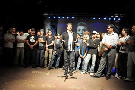 Las bandas de Tigre recibieron su DVD junto a Nonpalidece