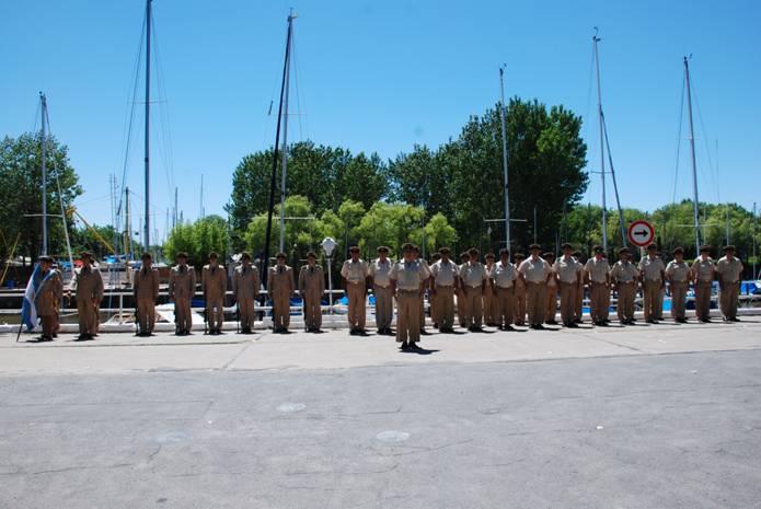 Asumió el nuevo titular de la Prefectura Naval de San Isidro, prefecto principal Rogelio Pellegrino