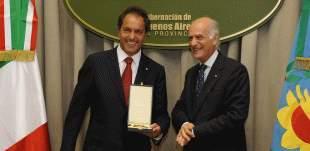 Scioli quiere repotenciar relaciones con Italia