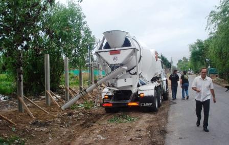 Avanzan las obras en el complejo deportivo del Club Tigre