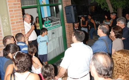 Un sector de Acción Comunal festejó con vecinos en Los Troncos