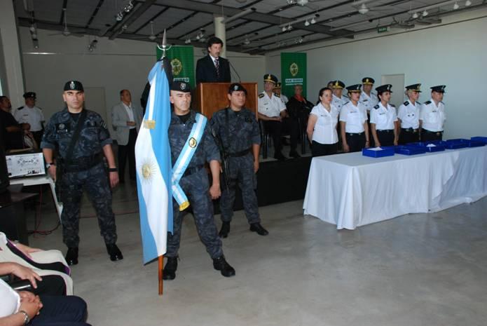 El intendente de San Isidro, Dr. Gustavo Posse, presidió esta mañana la ceremonia conmemorativa por el 130° aniversario de la creación de la Policía de la Provincia de Buenos Aires.