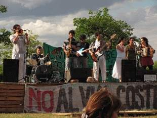 Festival de música en el río de Vicente López
