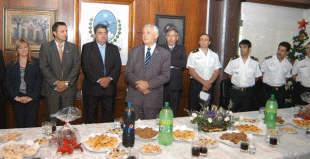 Ivoskus se reunió con los máximos responsables de la fuerza de seguridad de San Martín