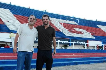 Rodrigo Molinos y Ezequiel Melaraña