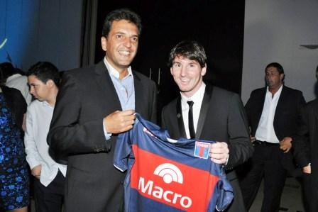 El Municipio firmó un convenio de colaboración con la Fundación Messi e YPF