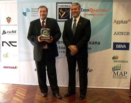 El Grupo Educativo Marín recibió el Premio Plata Iberoamericano de la Calidad 2010