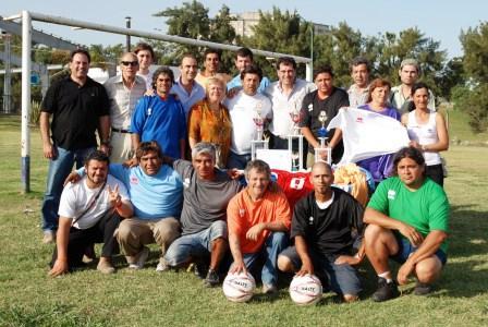 Torneo de fútbol de las Cooperativas en el Polideportivo Central