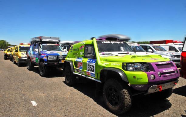 La tercera edición del Dakar Argentina-Chile se larga mañana desde el obelisco