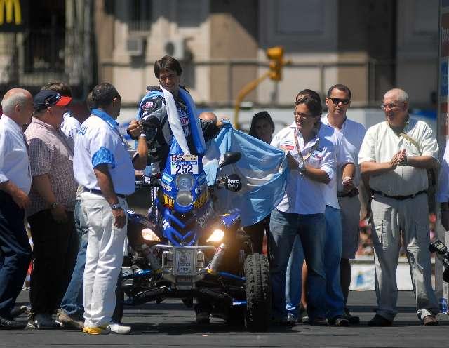 Patronelli fue penalizado con seis horas por no presentarse en horario para la largada