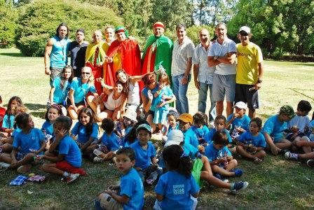 Secretaría de Promoción Comunitaria organizó una jornada con los 350 chicos que participan de las colonias de verano 2011 en el Delta