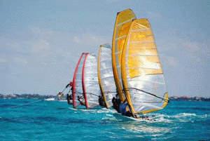 Arranca el sudamericano de Windsurf en San Isidro