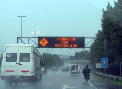 Recomendaciones para automovilistas para prevenir accidentes por la tormenta